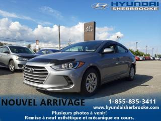 Used 2017 Hyundai Elantra LE+A/C+DEMARREUR+BANCS CHAUFF+BLUETOOTH for sale in Sherbrooke, QC