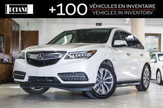 Used 2016 Acura MDX 2016 Acura MDX * Tech * Navigation * Certified for sale in Montréal, QC