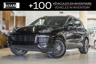 Used 2017 Porsche Cayenne 2017 Porsche Cayenne *Platinum Edition* Navigation for sale in Montréal, QC