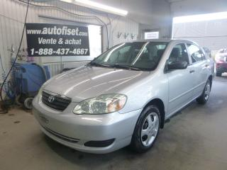 Used 2006 Toyota Corolla 2006 Toyota Corolla - 4dr Sdn CE Auto for sale in St-Raymond, QC