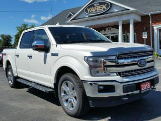Used 2018 Ford F-150 Lariat 4x4 for sale in Paris, ON