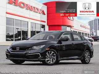 New 2019 Honda Civic EX for sale in Cambridge, ON