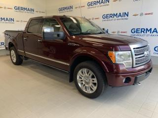 Used 2009 Ford F-150 PLATINUM- CUIR-TOIT OUVRANT- GPS for sale in St-Raymond, QC