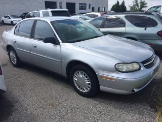 Used 2003 Chevrolet Malibu NO ACCIDENTS|POWER PACKAGE|KEYLESS for sale in Ancaster, ON