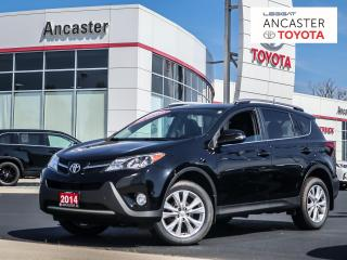 Used 2014 Toyota RAV4 LIMITED LEATHER SUNROOF BLUETOOTH CAMERA for sale in Ancaster, ON
