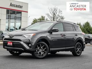 Used 2018 Toyota RAV4 SE NAVI|LEATHER|CAMERA|SUNROOF for sale in Ancaster, ON