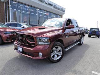 Used 2018 RAM 1500 Sport DIESEL/LEATHER/SUNROOF/NAVI/ONLY 14,000 KMS for sale in Concord, ON