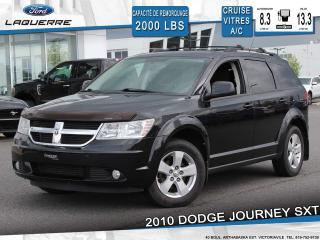 Used 2010 Dodge Journey SXT**7 PLACES*BLUETOOTH*CRUISE*A/C** for sale in Victoriaville, QC