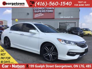 Used 2016 Honda Accord Sport | LEATHER | SUNROOF | BACK UP CAM | for sale in Georgetown, ON