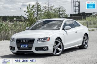 Used 2012 Audi A5 S-LINE A-8 2.0 PREMIUM PLUS NAVI CERTIFIED FINANCE for sale in Bolton, ON