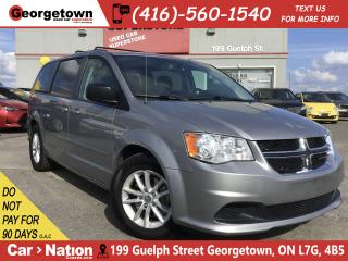 Used 2014 Dodge Grand Caravan SXT | CAPTAINS | DVD | BLUETOOTH | CAMERA for sale in Georgetown, ON