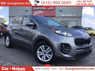 Used 2017 Kia Sportage LX 1 OWNER| 41,558KMS| B/U CAM| HTD SEATS for sale in Georgetown, ON