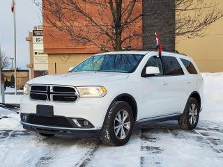 Used 2016 Dodge Durango Limited for sale in Drummondville, QC