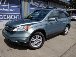 Used 2010 Honda CR-V Ex-l + cuir + toit + 4x4 for sale in Boisbriand, QC