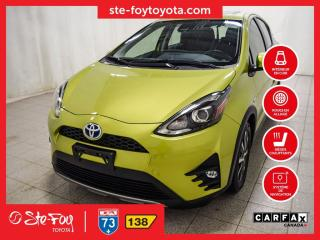 Used 2018 Toyota Prius c Technologie Navigation, Toit ouvrant for sale in Québec, QC