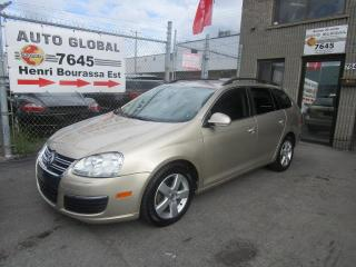 Used 2009 Volkswagen Jetta 2.5L Comfortline Wagon Mags Toit Panoramique for sale in Montréal, QC