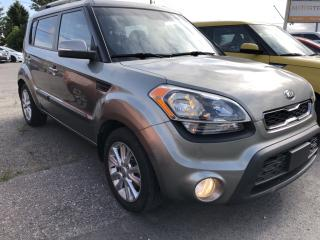 Used 2013 Kia Soul 2.0L 2u 6-Speed Manual with Heated Seats, Bluetooth, Cruise, Air, Pwr Windows and Keyless Entry with Alloys for sale in Kemptville, ON