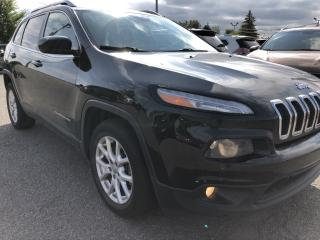 Used 2014 Jeep Cherokee North 6cyl! Heated Steering and Seats, NAV, BackupCam, AutoStart, Bluetooth and Pwr Windows, Keyless Entry for sale in Kemptville, ON