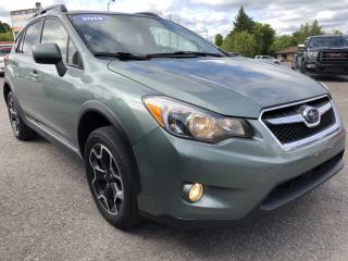Used 2014 Subaru XV Crosstrek Touring AWD with Heated Seats, Bluetooth, Pwr Windows, Keyless Entry, Cruise and Alloys with Fog Lights! for sale in Kemptville, ON