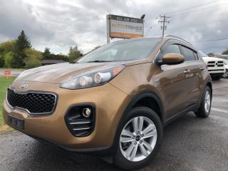 Used 2017 Kia Sportage EX AWD! Rare Colour with Heated Seats, BackupCam, Bluetooth, Steering Wheel Controls, Pwr Windows, Keyl for sale in Kemptville, ON