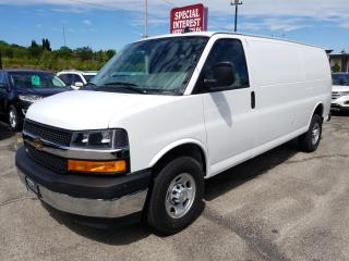 Used 2019 Chevrolet Express 3500 Work Van NAVIGATION !!  BLUE TOOTH !!  REAR CAMERA !! for sale in Cambridge, ON