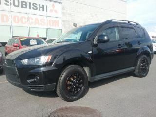 Used 2010 Mitsubishi Outlander ES | AWD | CRUISE | MAGS | BLUETOOTH | A/C | AUX for sale in St-Hubert, QC