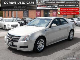 Used 2010 Cadillac CTS 3.0L RWD for sale in Scarborough, ON
