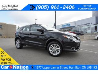 Used 2018 Nissan Qashqai SV | SUNROOF | REAR CAM | BLINDSPOT | XM RADIO for sale in Hamilton, ON