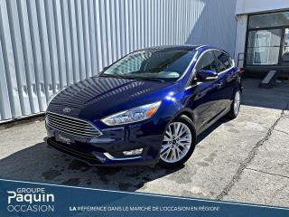 Used 2016 Ford Focus Titanium BAS KILOMETRAGE for sale in Rouyn-Noranda, QC