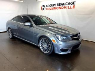 Used 2012 Mercedes-Benz C-Class C63 AMG for sale in Drummondville, QC