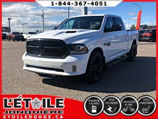 Used 2017 RAM 1500 SPORT CREWCAB V8 HEMI, SIEGES ET VOLANT for sale in Jonquière, QC