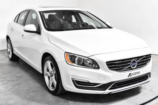 Used 2016 Volvo S60 T5 SPECIAL EDITION AWD CUIR TOIT MAGS NA for sale in St-Hubert, QC