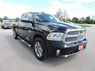 Used 2015 RAM 1500 Laramie Limited. Diesel. 4X4. Air suspension for sale in Gorrie, ON
