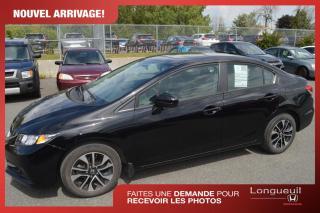 Used 2015 Honda Civic VENDU EX *** kilométrage inférieur à la for sale in Longueuil, QC