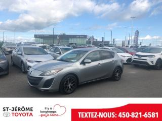 Used 2010 Mazda MAZDA3 * 145 000 KM * VITRES ET PORTES ÉLEC * MAGS * for sale in Mirabel, QC