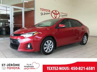 Used 2014 Toyota Corolla * SPORT * CAMÉRA * SIÈGES CHAUFF * FOGS * for sale in Mirabel, QC