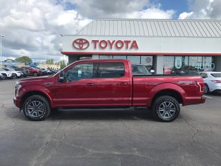 Used 2017 Ford F-150 Lariat leather roof navigation v8 LARIAT for sale in Cambridge, ON