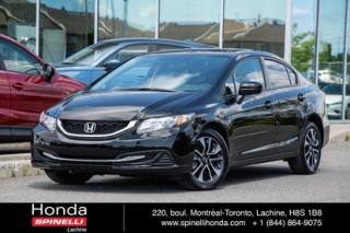 Used 2014 Honda Civic EX MANUELLE TRES BAS KM MANUELLE TOIT MAGS BLUETOOTH for sale in Lachine, QC