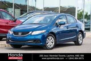 Used 2015 Honda Civic LX AUTO SEDAN AUTO AC CRUISE BLUETOOTH for sale in Lachine, QC
