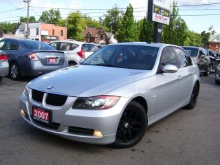 Used 2007 BMW 3 Series 328i,AUTO,CERTIFIED,NO ACCIDENT,SUNROOF,FOG LIGHTS for sale in Kitchener, ON