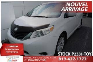 Used 2011 Toyota Sienna INTEGRALE* PORTES AUTOMATIQUES* SIÈGES CAPITAINES* for sale in Drummondville, QC