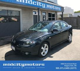 Used 2006 Mazda MAZDA3 GT/Leather/Sunroof/Heated Seats for sale in Niagara Falls, ON