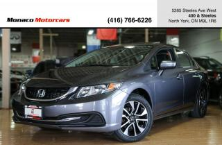 Used 2015 Honda Civic EX - SUNROOF|BACKUPCAM|SIDECAM|ALLOYS|HTD SEATS for sale in North York, ON