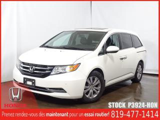 Used 2014 Honda Odyssey EX-L+CUIR+GPS+SIEGCHAUFF+BLUETOOTH++ for sale in Drummondville, QC
