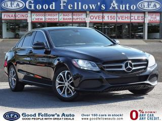 Used 2016 Mercedes-Benz C 300 4MATIC, PANORAMIC ROOF, NAVIGATION,REARVIEW CAMERA for sale in Toronto, ON