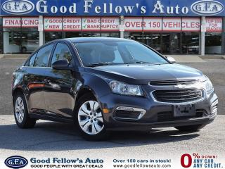 Used 2015 Chevrolet Cruze 1LT MODEL, 4CYL, REARVIW CAMERA for sale in Toronto, ON