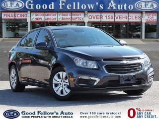 Used 2015 Chevrolet Cruze 1LT MODEL, 4CYL, REARVIEW CAMERA for sale in Toronto, ON