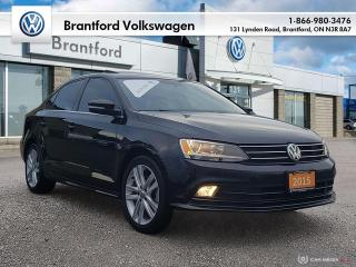 Used 2015 Volkswagen Jetta Sedan Highline 1.8T 6sp at w/Tip for sale in Brantford, ON