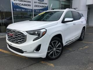 Used 2018 GMC Terrain Denali AWD 2.0L CUIR TOIT GPS LOADER SHOWROOM for sale in St-Georges, QC