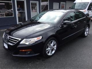 Used 2011 Volkswagen Passat CC Sportline for sale in Parksville, BC